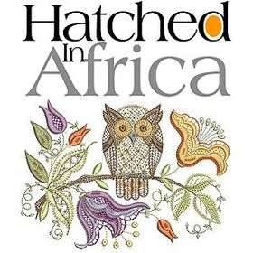 Hatched in Africa Embroidery
