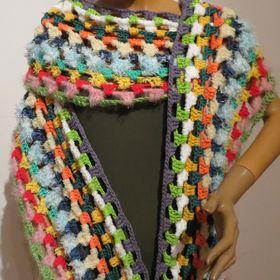Ponchos, handmade, shawls, Knitting, scarves, beanies, crocheted