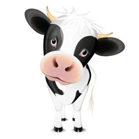 "Grosgrain Ribbon Holstein Cows Pasture Dairy Farmer Got Milk Cattle Ranch 1/"""