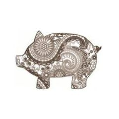 One Paisley Pig