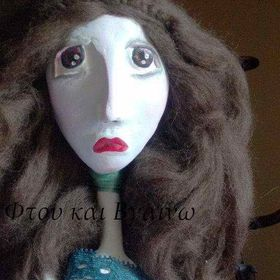 The moon and the yew tree Art Dolls