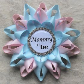 PetalPerceptions - Baby and Bridal Shower Pins, Bridesmaid Jewelry, Corsages, Mens Gifts