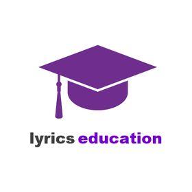 Lyrics Education lyricseducation on Pinterest