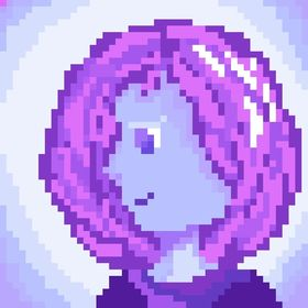 Ledlamp Purple