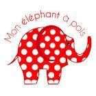 Mon éléphant à pois