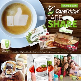 CareFridge™ Refrigerator Sanitizer