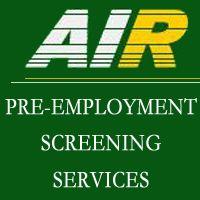 Air Pre-Employment Screening