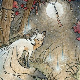 renard lunaire