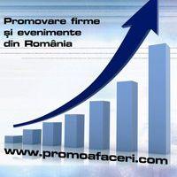 Promoafaceri, promovare evenimente