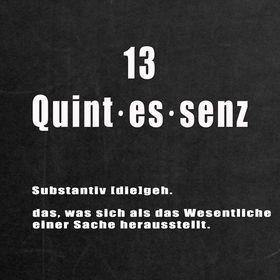 13quintessenz