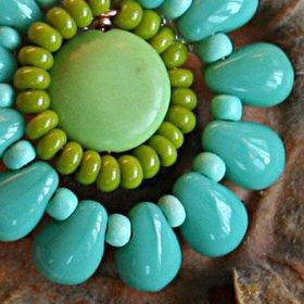 Matte Clear Ghana Glass Seed Beads 4mm African 25 Inch Strand Handmade