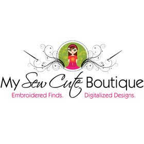 My Sew Cute Boutique - Embroidery, SVG, Stickers, Clipart