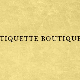 etiquette-boutique