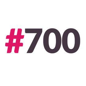 Hashtag 700