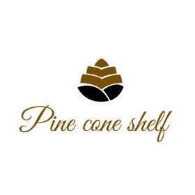 Pine cone shelf - Kenyan home decor