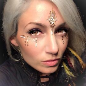 Golden Ratio Tats, Flash Tats For Your Face !! Novel Festival Makeup ! Face gems Too!
