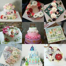 etoile bonbon cake