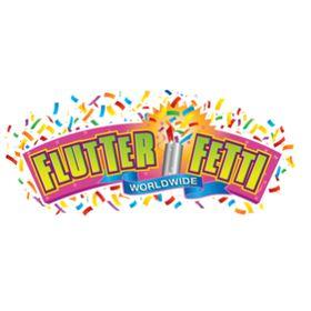FLUTTER FETTI BOX OF 12