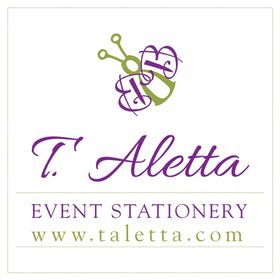 T. Aletta | Event Stationery