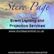 Steve Page Event Lighting and Projection Hire Services, Dundee