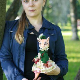 Текстильные куклы и игрушки на заказ