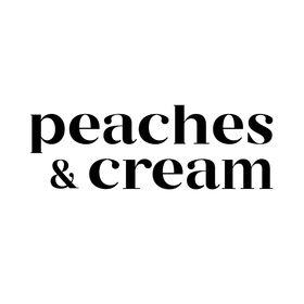 Peaches & Cream Label