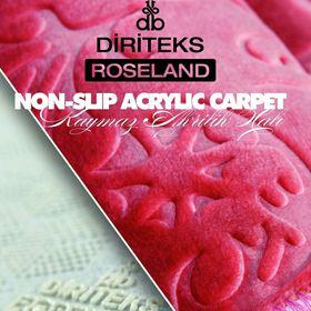 Roseland Carpet Kaymaz Tabanlı Halı