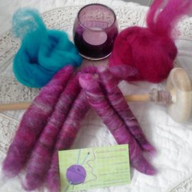 Pookies Punis, Batts and Yarns
