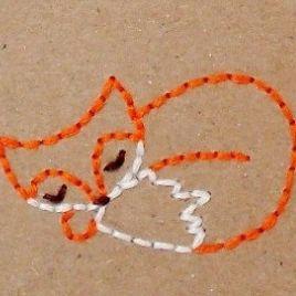 Sleeping Fox Stitchery