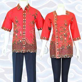 Baju Batik Modern Wanita Pria Pekalongan Solo (bajubatiks) on Pinterest 6a0fe14188
