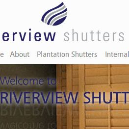 Riverview Shutters