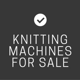 Knitting Machines For Sale