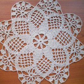 Filet Monogram Doily Crochet Pattern Favorite Filet HOWB Collector Series