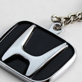 Honda Civic Si Silver Snap Hook Metal Key Chain Keychain Key-ring Made in USA