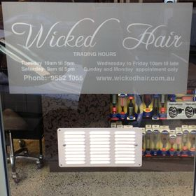 wicked hair pyrmont