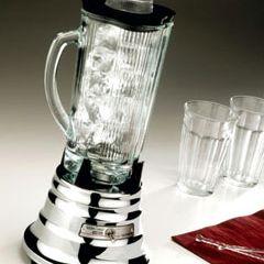 Black Waring 4315 Blender Clover Leaf Cover for Glass Jar