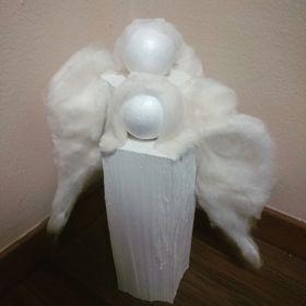 Muj  krásný andílek  vyrob si doma sám