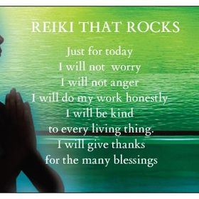 REIKI THAT ROCKS !!.