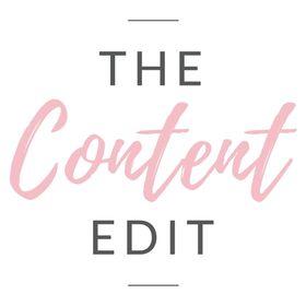 The Content Edit   Blogging, Business & Travel