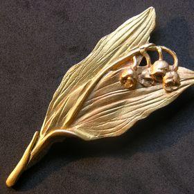 Tooky Lot de 12 Broches Boutons Cristal Dor/é Argent/é Gold, A