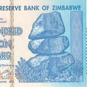 Zimbabwe Currency Collectibles