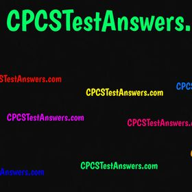 8 Best CPCS Renewal Test Answers images | Answers, Test, Renew