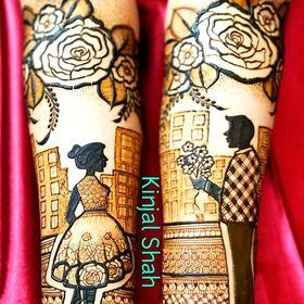 Bridal Kinjal Mehndi Art