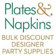 Plates & Napkins Party Supplies
