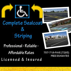 Complete Sealcoat & Striping