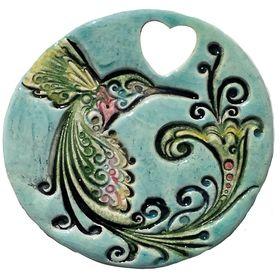 Porcelain Puffy Coin Beads 7 x 12mm White//Dark Blue 10 Pcs Art Hobby Jewellery