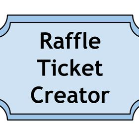 raffle ticket creator raffleticketapp on pinterest