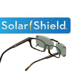 Solar Shield Fits Over Sunglasses and ClipOns