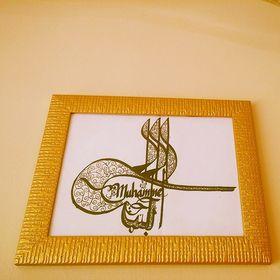 muhammet aydın kaligrafik hediyelik