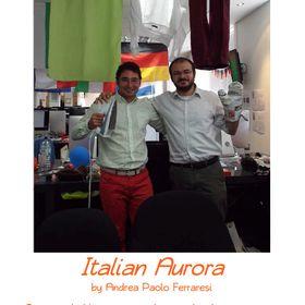 Italian Aurora author Andrea Paolo Ferraresi